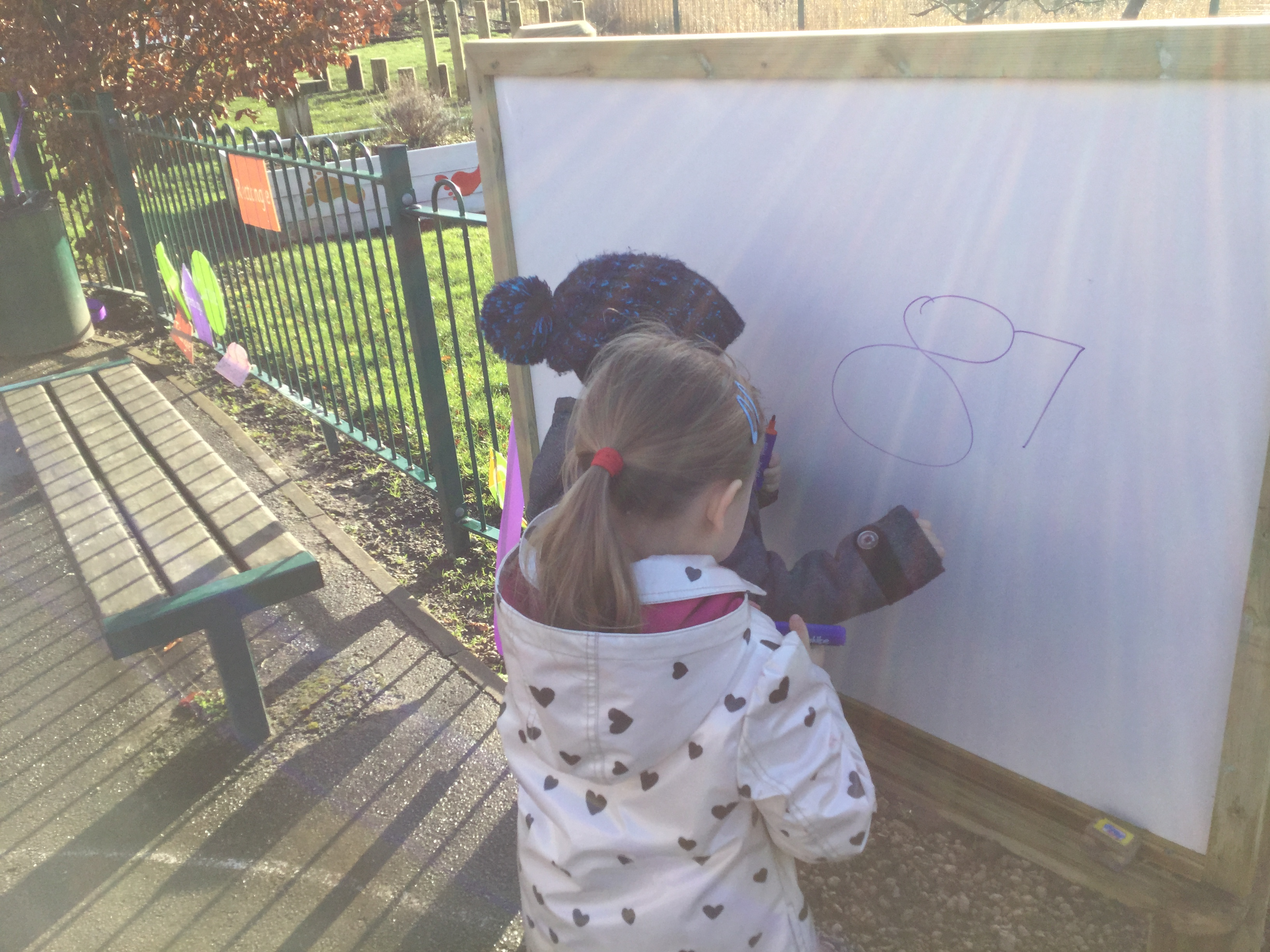 outdoor whiteboard for schools