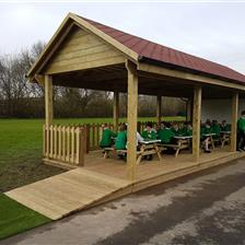 Locking Stump's Play Equipment & Outdoor Classroom