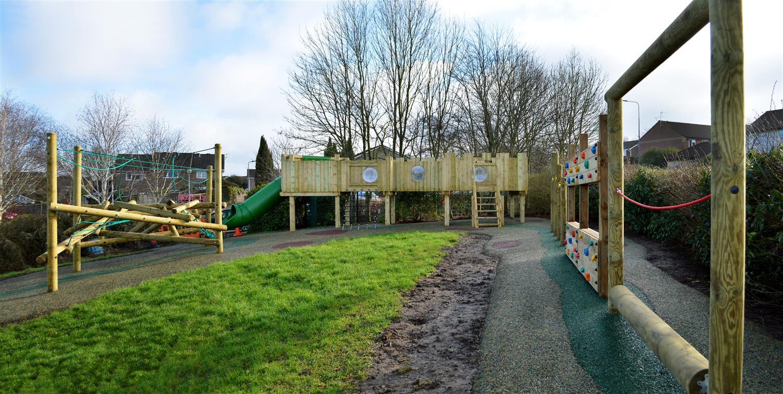 Bailey S Court School Playground Transformation Pentagon