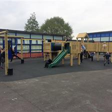 Whitegate Primary's Amazing Physical Play Zone