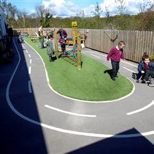 Knowle Primary School's EYFS Playground