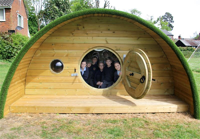 The Burrow playhouse - Codicote C of E primary