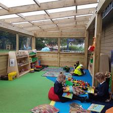 Blakehill Primary School's Freestanding Canopy