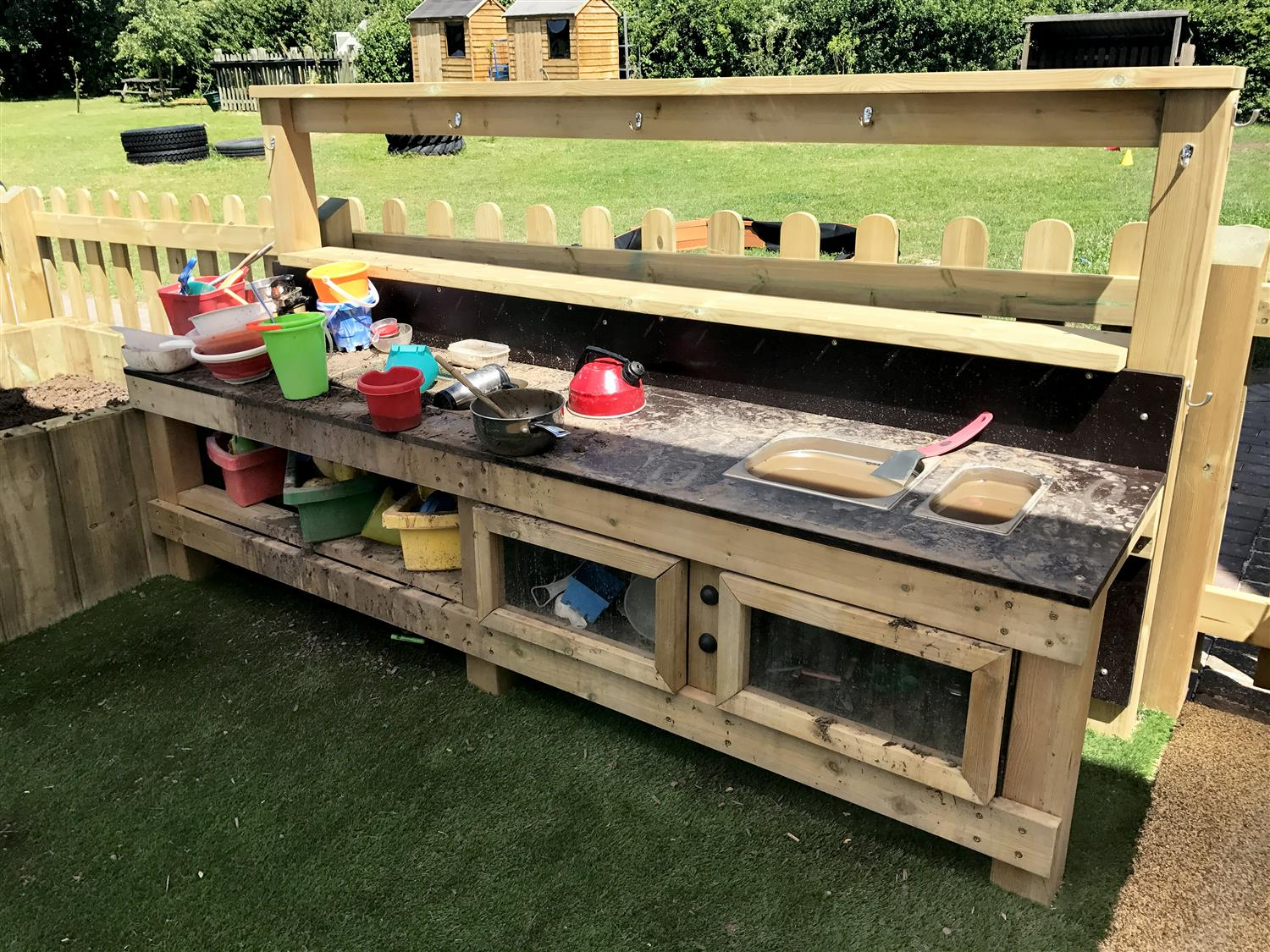 Mud Kitchen Ideas Eyfs.The Meadow S Eyfs Outdoor Learning Environment Pentagon Play