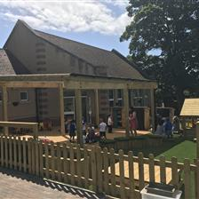 The Meadow's EYFS Outdoor Learning Environment