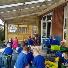 Barnard Grove Primary's School Canopies