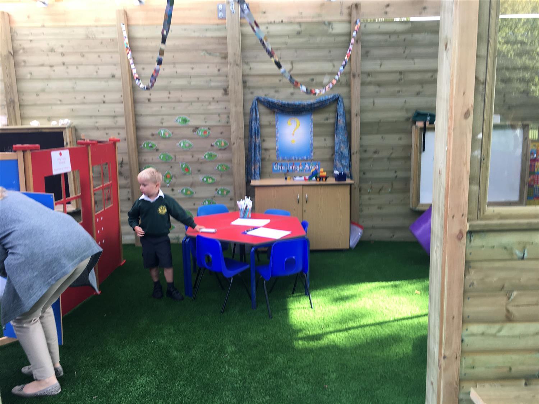 Outdoor Classroom Ideas Uk : Holy trinity s new outdoor classrooms pentagon play