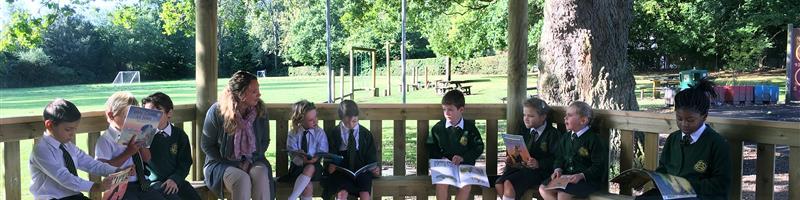 Holy Trinity's New Outdoor Classrooms