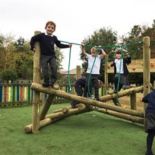Fourfields Primary's EYFS Outdoor Play Equipment