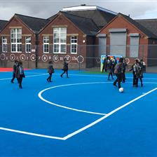 Werneth Primary School's MUGA Pitch