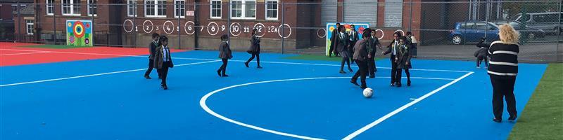 Werneth Primary School's MUGA Pitch