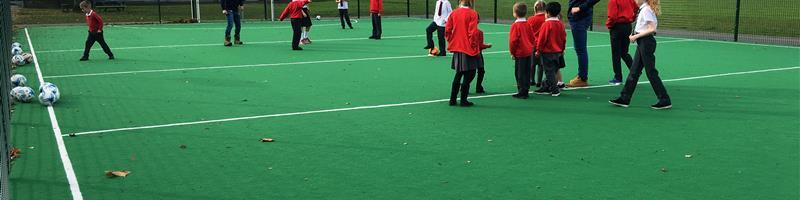 Hythe Primary School's Multi Use Games Area