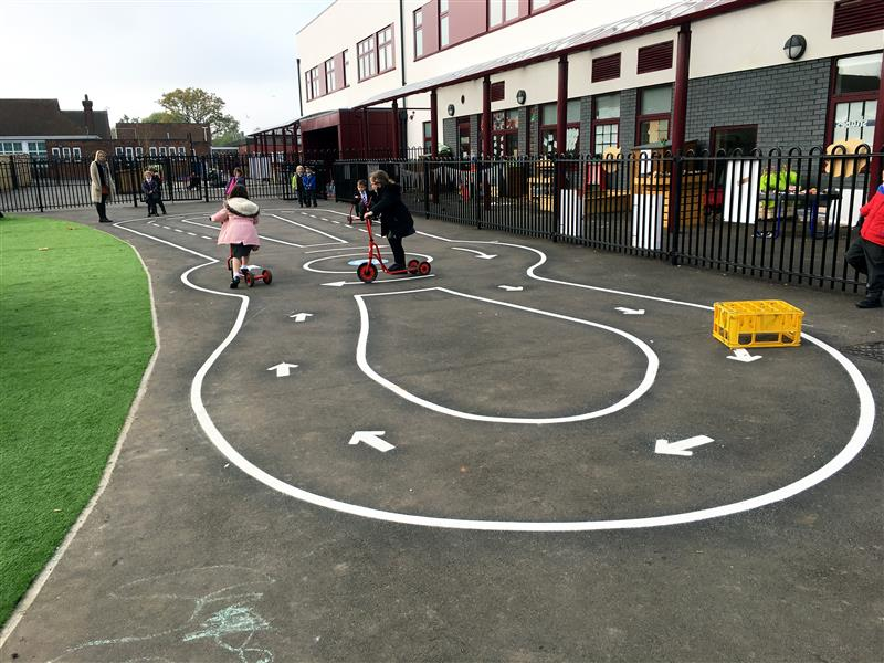 Roadway Markings for schools