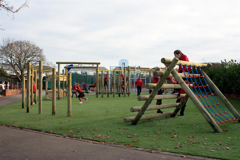Ashton Vale Primary S Active Playground Zone Pentagon Play