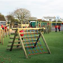 Ashton Vale Primary's Active Playground Zone