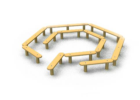 Mini Maze Seating