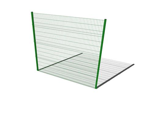 Perimeter Fencing 3M High Fence Panel (Up to 3M Post Centres)