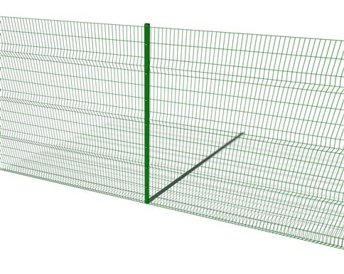 Perimeter Fencing 3M High Fence Post