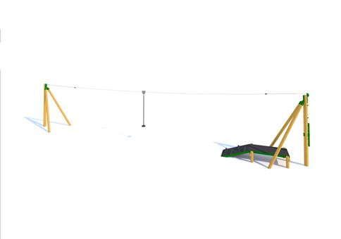 Zip Wire 1-Way (20M)