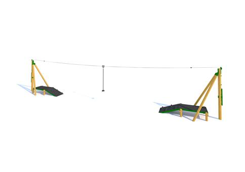 Zip Wire 2-Way (20M)