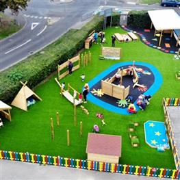 Early Years Outdoor Playground Equipment & Nursery