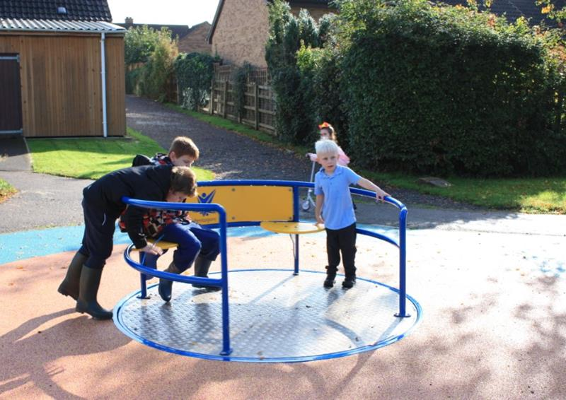 School Playground Roundabouts