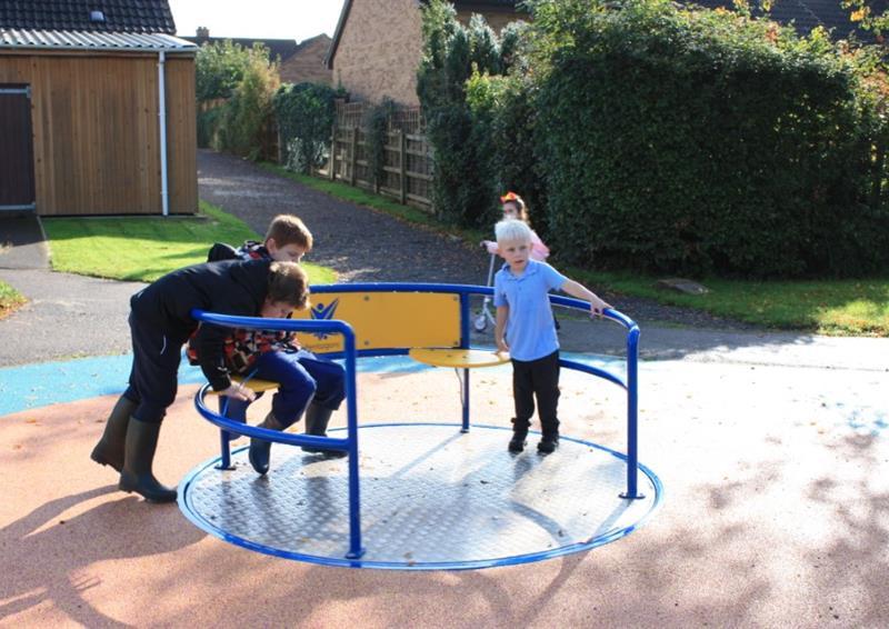 School Playground Roundabouts
