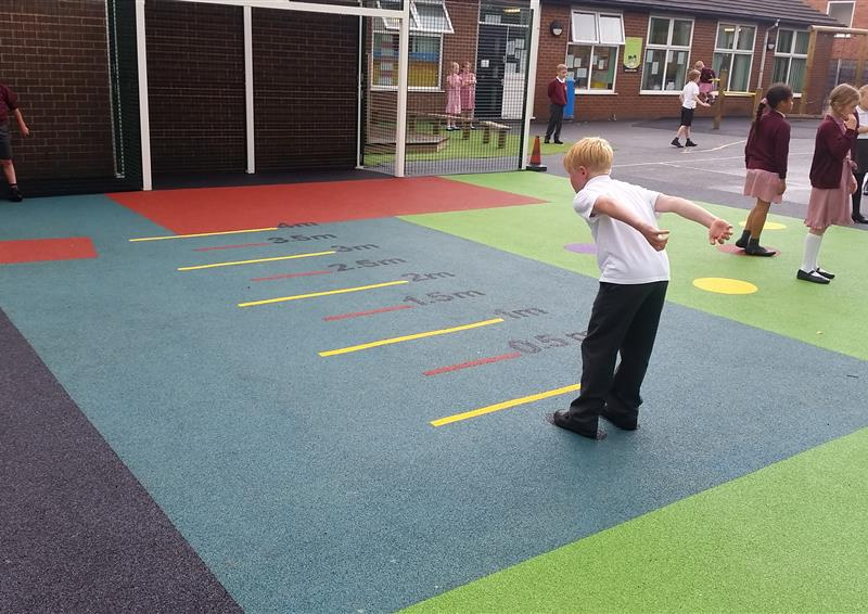 playground markings for active play