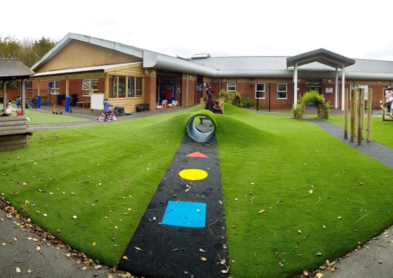 eyfs outdoor play space