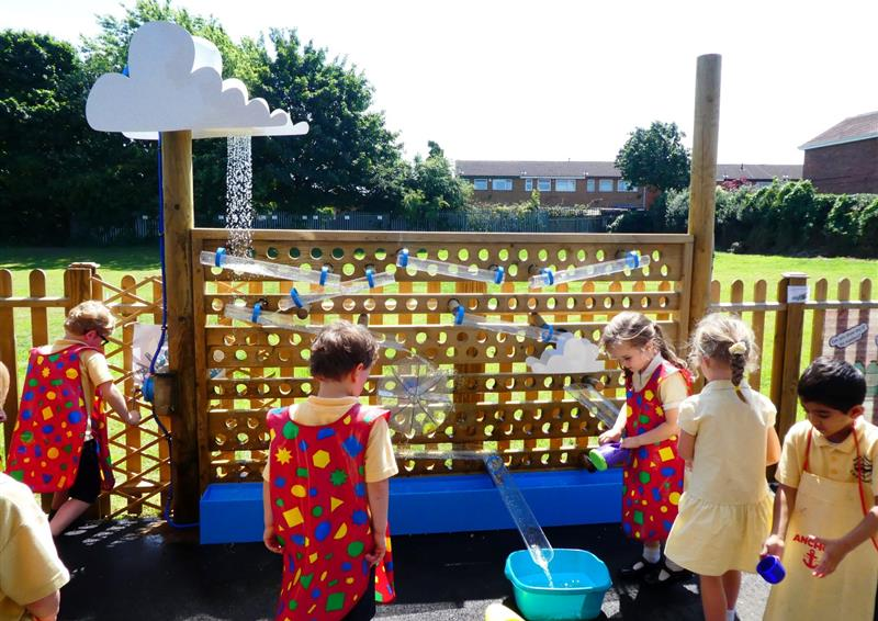 water wall early years
