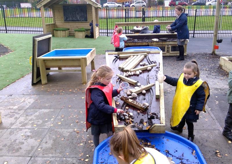 early years playground equipment