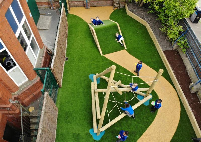 eyfs playground climbing frames