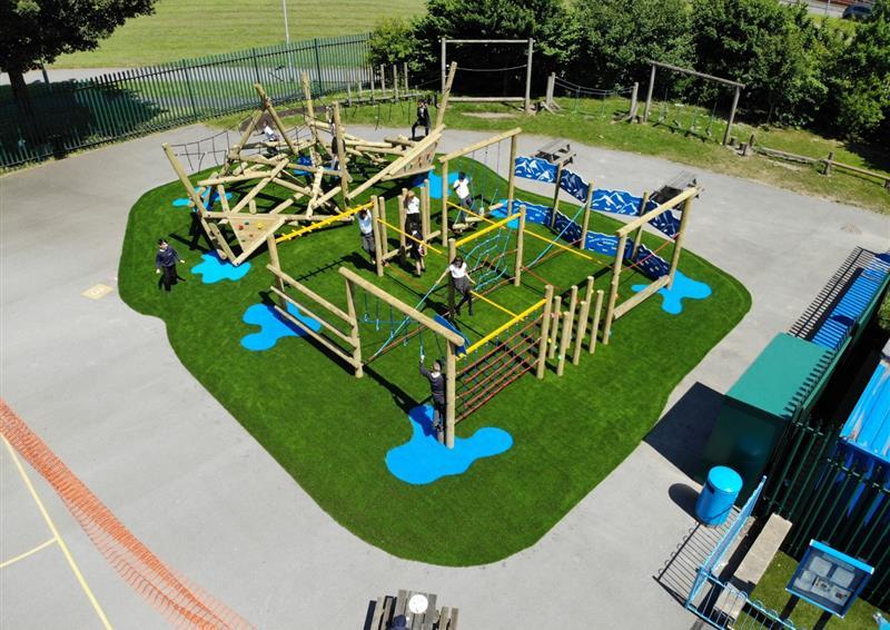 climbing frames for schools
