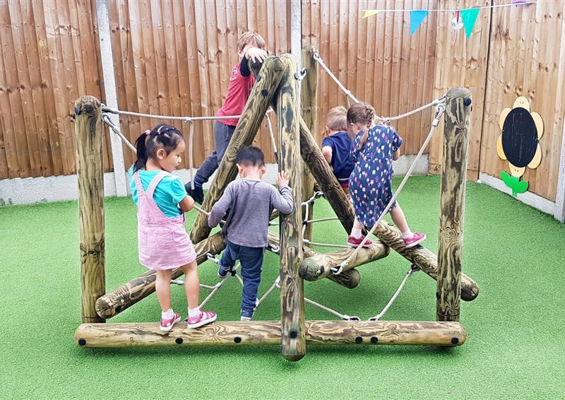 outdoor nursery playground equipment