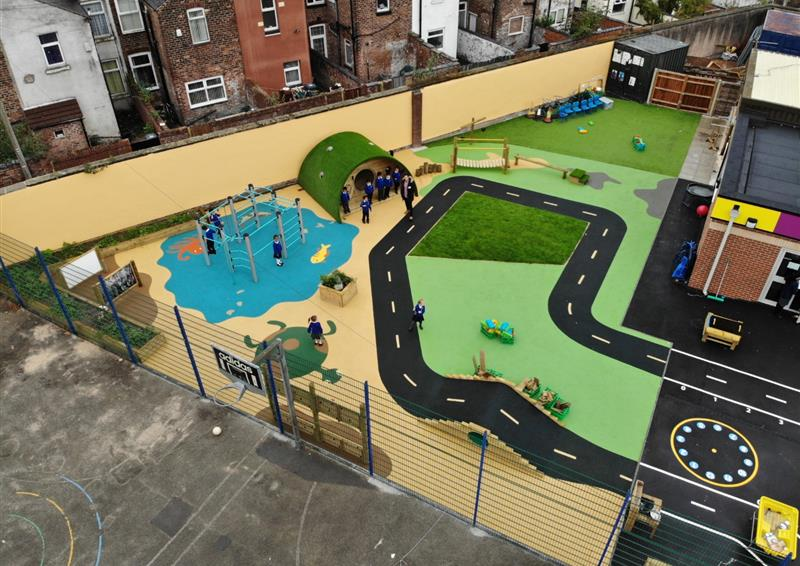 School Playground Outdoor Learning Environment